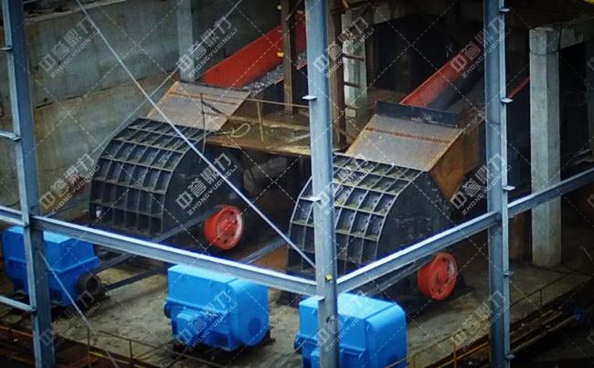 1米2的大石头粉碎机在湖南采石场投产使用