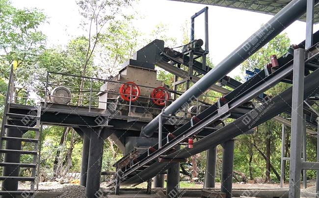时产50吨小型沙子粉碎机获客户好评