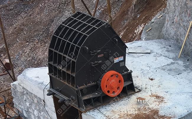 河南南阳时产500吨石场粉碎机生产线