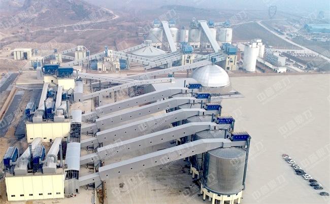 河南新乡时产1500吨大型石料厂粉碎机生产线